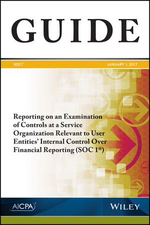 Reporting on an Examination of Controls at a Service Organization Relevant to User Entities