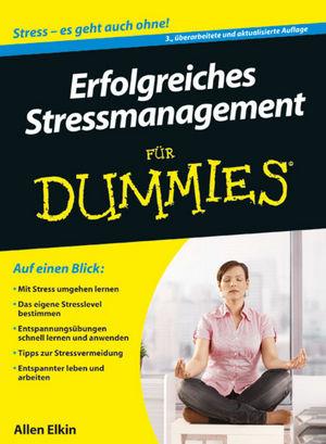 Erfolgreiches Stressmanagement für Dummies, 3. Auflage