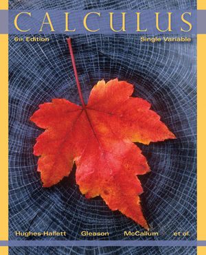 Calculus: Single Variable, 6th Edition (EHEP002449) cover image