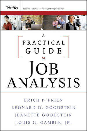 A Practical Guide to Job Analysis (047044424X) cover image