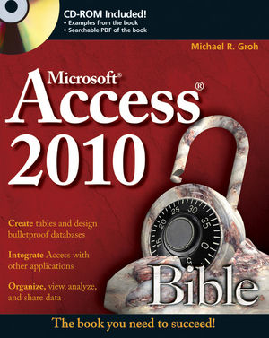 Access 2010 Bible (047047534X) cover image