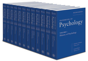 Handbook of Psychology, 12 Volume Set, 2nd Edition (047061904X) cover image