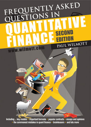 Frequently Asked Questions in Quantitative Finance, 2nd Edition (047068514X) cover image