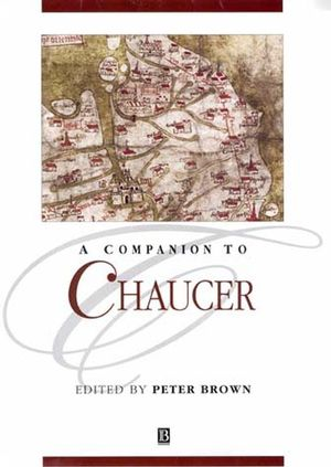 A Companion to Chaucer (047069274X) cover image