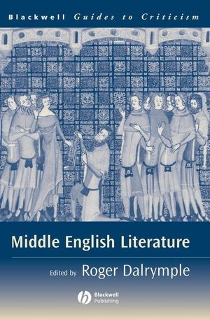 Middle English Literature: A Guide to Criticism (047075544X) cover image