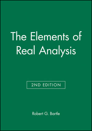 The Elements of Real Analysis, 2nd Edition