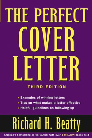 the perfect cover letter 3rd edition 047147374x cover image