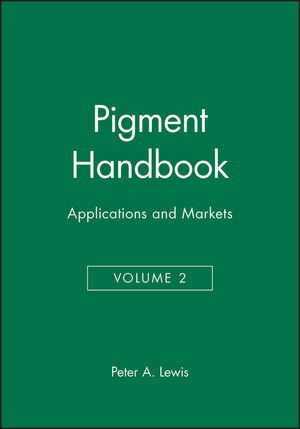 Pigment Handbook, Volume 2: Applications and Markets, 2nd Edition