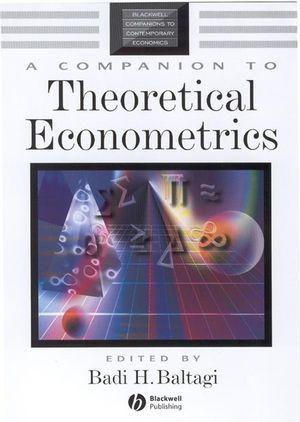 A Companion to Theoretical Econometrics (063121254X) cover image