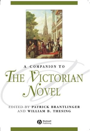 A Companion to the Victorian Novel (063122064X) cover image