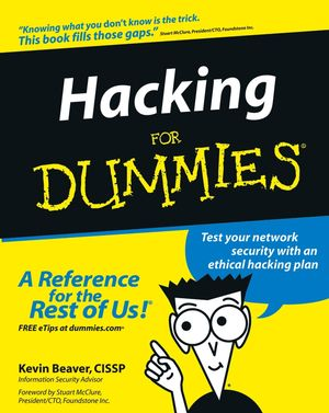 Hacking For Dummies (076455784X) cover image