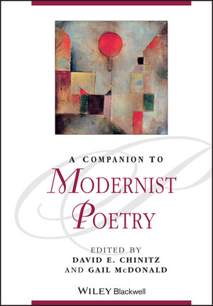 A Companion to Modernist Poetry (111860444X) cover image