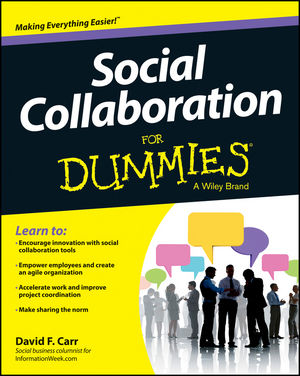 Book Cover Image for Social Collaboration For Dummies