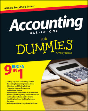 Accounting All-in-One For Dummies (111881374X) cover image
