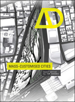Mass-Customised Cities (111891564X) cover image