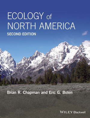 Ecology of North America, 2nd Edition (111897154X) cover image
