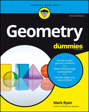 Geometry For Dummies, 3rd Edition (111918164X) cover image