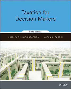 <span class='search-highlight'>Taxation</span> for Decision Makers, 2016 Edition