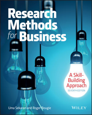 Research Methods For Business: A Skill Building Approach, 7th Edition (111926684X) cover image