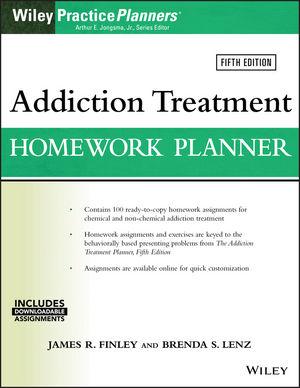 Addiction Treatment Homework Planner, 5th Edition