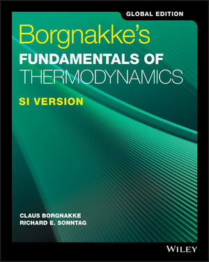 Borgnakke's Fundamentals of Thermodynamics, SI Version, Global Edition