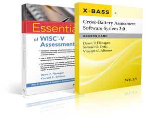 Essentials of WISC-V Assessment with Cross-Battery Assessment Software System 2.0 (X-BASS 2.0) Access Card Set (111939564X) cover image