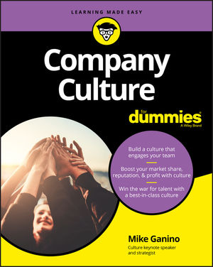 Company Culture For Dummies (111945784X) cover image
