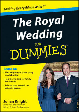 The Royal Wedding For Dummies (111997304X) cover image