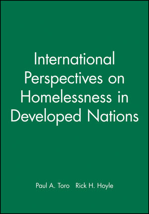 International Perspectives on Homelessness in Developed Nations (140518244X) cover image