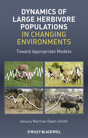 Dynamics of Large Herbivore Populations in Changing Environments (140519894X) cover image