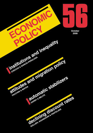 Economic Policy 56 (144430724X) cover image