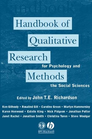 Handbook of Qualitative Research Methods for Psychology and the Social Sciences (185433204X) cover image