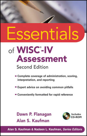 Essentials of WISC-IV Assessment, 2nd Edition (0470189150) cover image