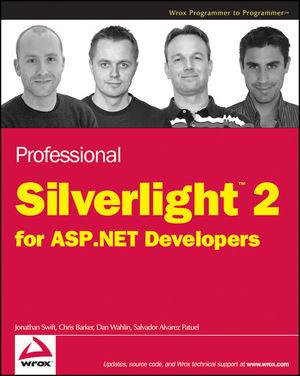 Professional Silverlight 2 For ASPNET Developers