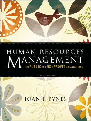 Human Resources Management for Public and Nonprofit Organizations: A Strategic Approach, 3rd Edition (0470482850) cover image