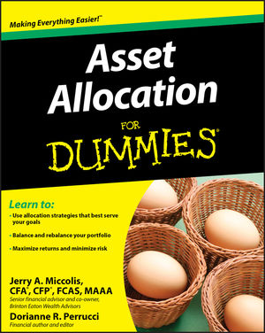 Asset Allocation For Dummies (0470522550) cover image
