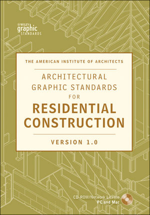Architectural Graphic Standards for Residential Construction 1.0 CD-ROM Network Version (0470541350) cover image