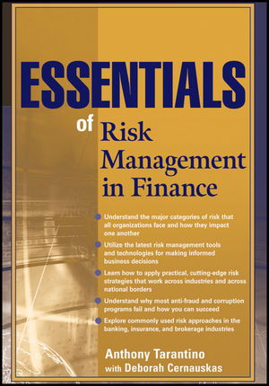 Essentials of Risk Management in Finance (0470946350) cover image