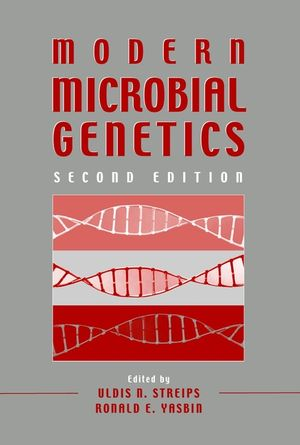 Modern Microbial Genetics, 2nd Edition (0471386650) cover image