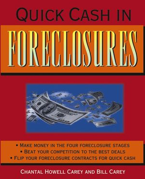 Quick Cash in Foreclosures (0471679550) cover image