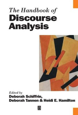 The Handbook of Discourse Analysis (0631205950) cover image