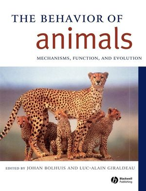 The Behavior of Animals: Mechanisms, Function And Evolution (0631231250) cover image