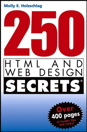 0764568450 vector 250 HTML and Web Design Secrets