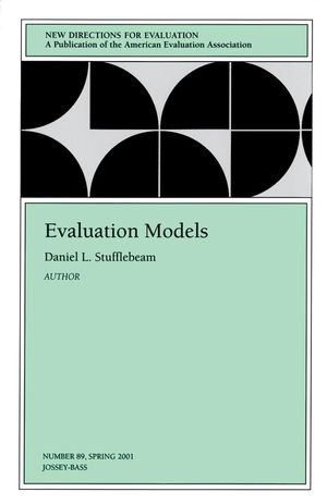 Evaluation Models: New Directions for Evaluation, Number 89 (0787957550) cover image