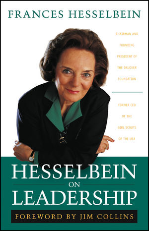 Hesselbein on Leadership (0787968250) cover image