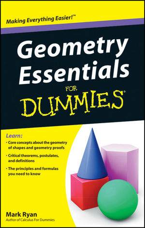 Geometry Essentials For Dummies (1118068750) cover image