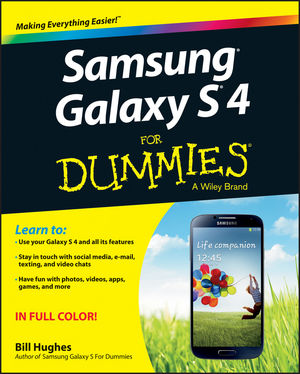 Samsung Galaxy S 4 For Dummies (1118645650) cover image