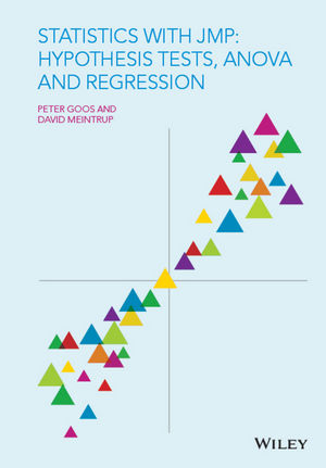 Statistics with JMP: Hypothesis Tests, ANOVA and Regression (1119097150) cover image