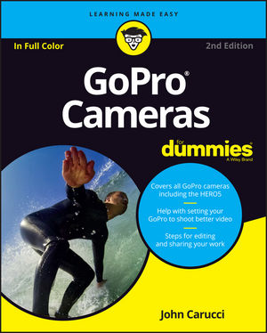 GoPro Cameras For Dummies, 2nd Edition (1119285550) cover image