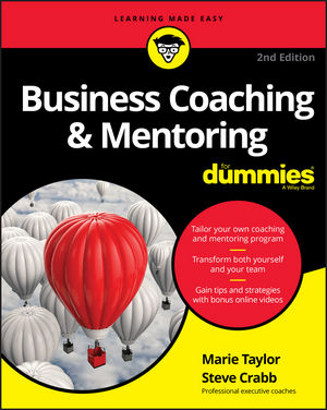 Business Coaching & Mentoring For Dummies, 2nd Edition (1119363950) cover image